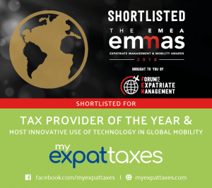 MyExpatTaxes FEM EMMA Awards