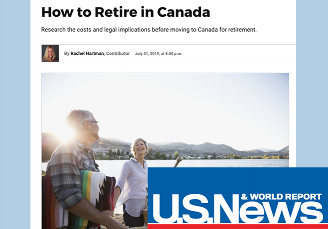 usnews How to retire in Canada